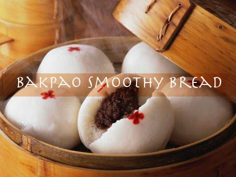Bakpao Steam Smoothy Bread | Best cooking recipes, world cuisines
