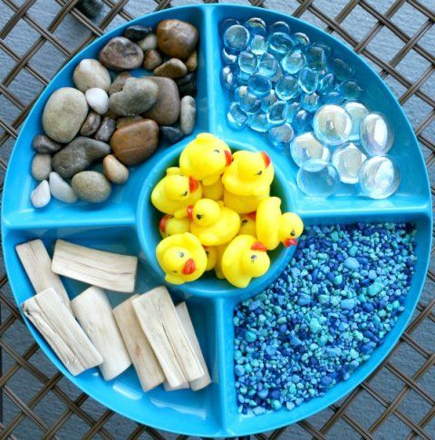 Duck Pond Water Play Materials