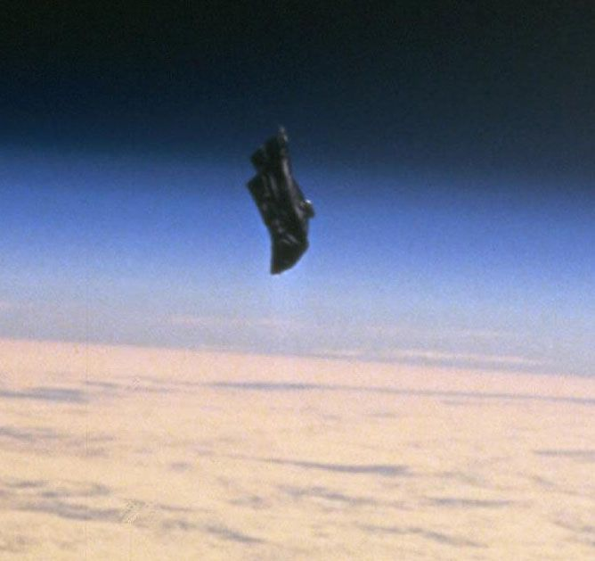 Black Knight satellite. Discovered orbiting the earth in 1954--years before we went to space. See article and old newspaper clippings. More than one artificial satellites discovered. Where did they come from?