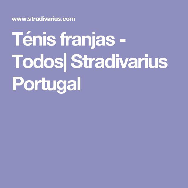 Ténis franjas - Todos| Stradivarius Portugal