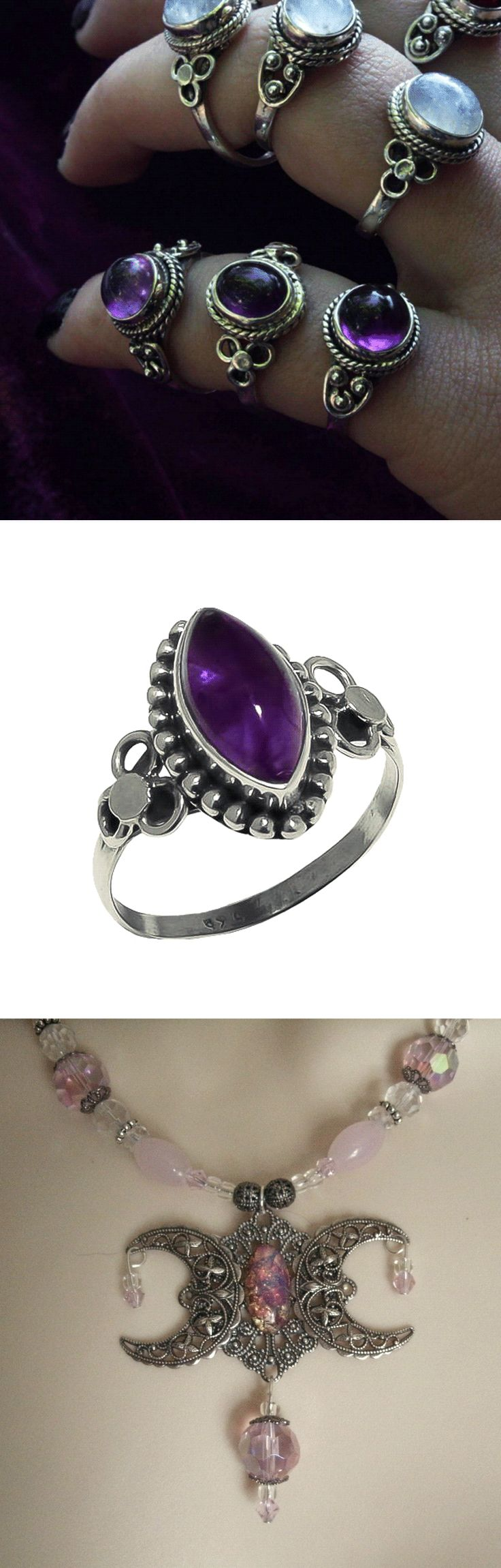Shop witchy occult jewelry at RebelsMarket.