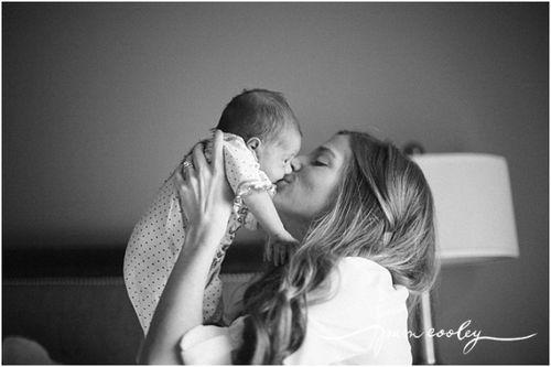 Darling new born photo..