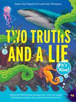 The Haunting of Orchid Forsythia: All About Middle Grade Review: Two Truths and a Lie: It's Alive
