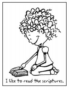 reading bible coloring pages - photo#18