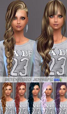 Los sims 4 mods cabellos
