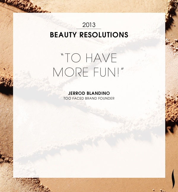 Our #2013 Beauty #Resolutions. What are yours? #Sephora #NewYears