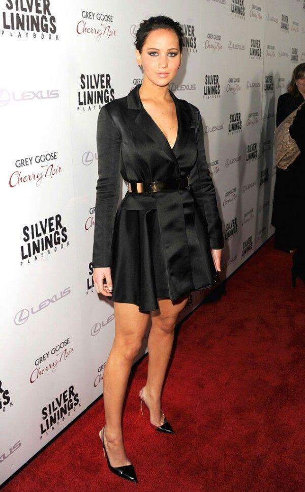 Jennifer Lawrence | Little black dress, Lil black dress, Style