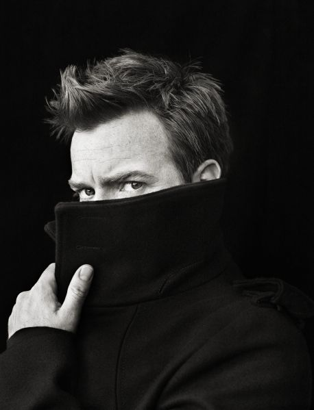 Ewan McGregor photographed by Richard Phibbs.