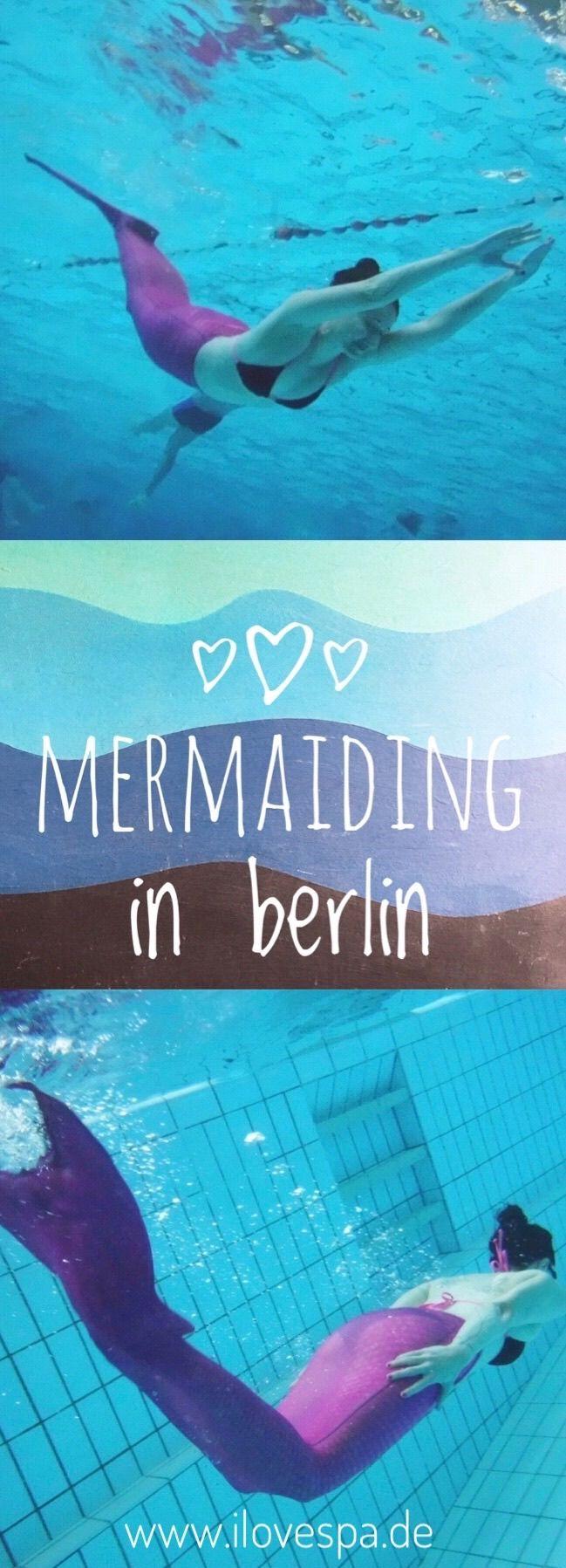 Meerjungfrauen Schwimmen in Berlin
