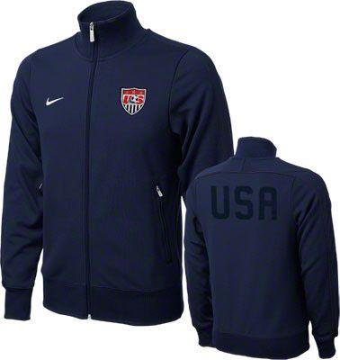 USA Soccer Track Jacket