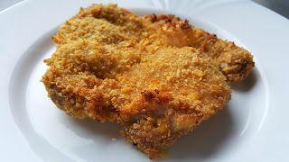Vaříme bez tuku: Kuřecí řízek v kukuřičných lupíncích pečený v trou...