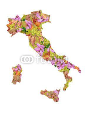 Italia Autunno Colori Foglie