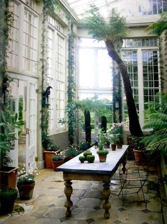 conservatory-I might've pinned this already...