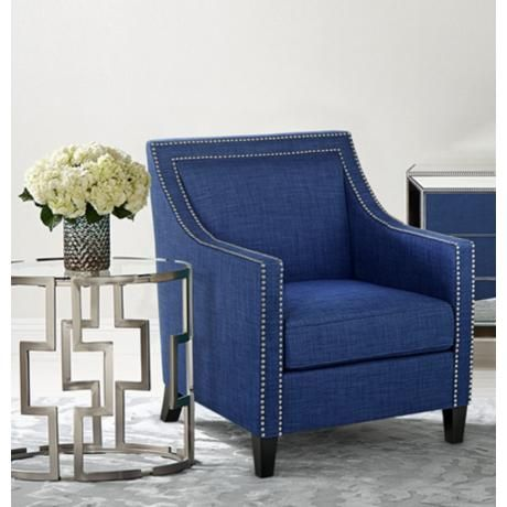 1000 Ideas About Navy Blue Accent Chair On Pinterest