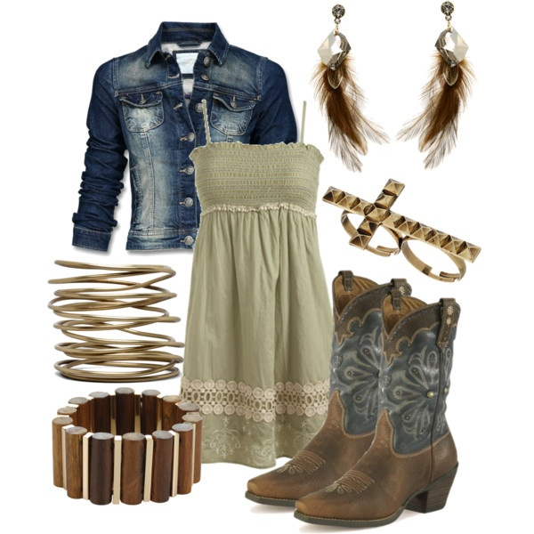 /: Cuntrygurl, Country Style, Clothes Outfits, Country Girls, Dresses Outfits, Polyvore, Cowgirl Style, Friday Night, Country Outfits