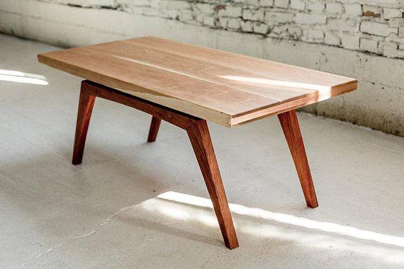 Mid Century Modern Coffee Table Mid Century Table Copper Etsy Mid Century Modern Coffee Table Coffee Table Mid Century Coffee Table