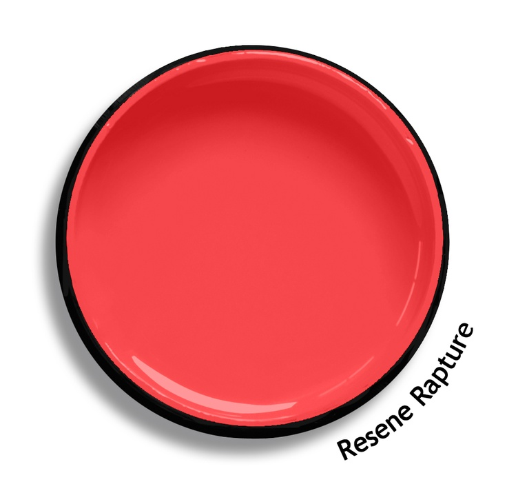 Resene Rapture is full of joyous ecstasy, a hot frenetic pink and orange collaboration. Try Resene Rapture with rich warm taupes, lemon sherbets or true sapphire blues such as Resene Triple Truffle, Resene First Light or Resene Submerge. From the Resene The Range fashion colours. Latest trends available from www.resene.co.nz. Try a Resene testpot or view a physical sample at your Resene ColorShop or Reseller before making your final colour choice.