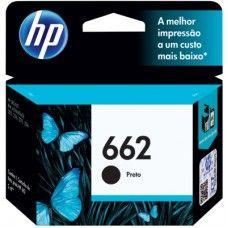 Cartucho Ink Advantage 662 CZ103AB Preto - HP de R$ 39,90 por R$ 38,79
