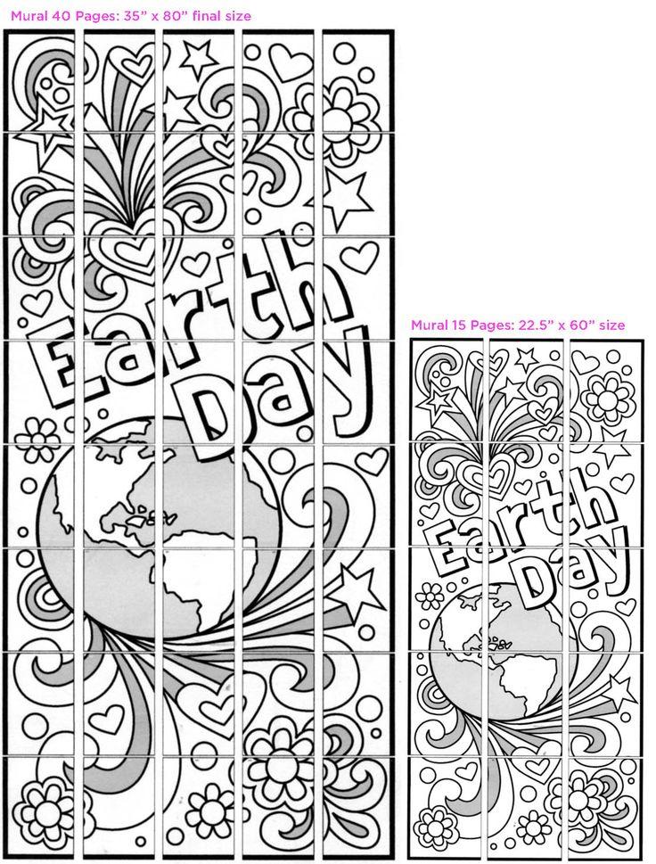 День Земли Doodle - Художественные проекты для детей