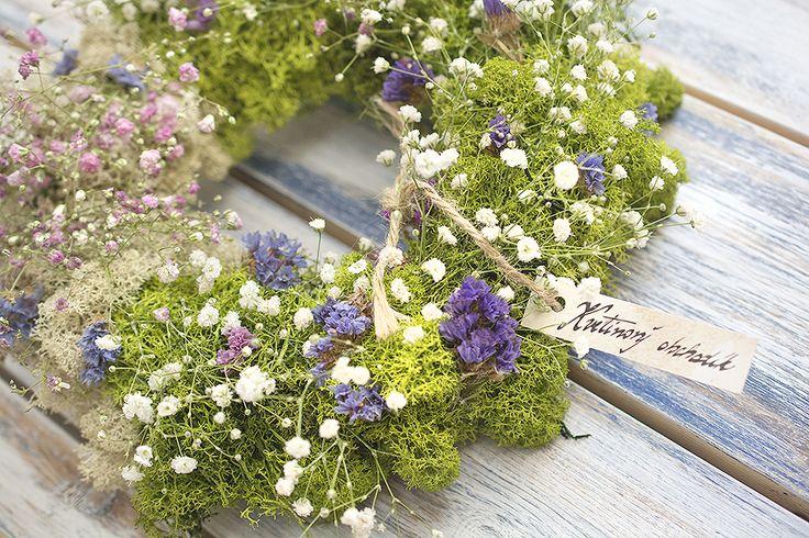 Moss wreath  http://kvetinovyobchodik.sk/