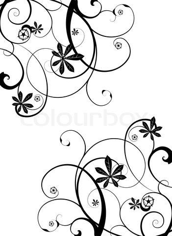 Stock Vektor Af Blomster Tatoveringer Tatovering