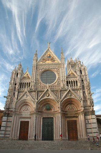 Siena Cathedral, Italy. One of the coolest churches I've seen.