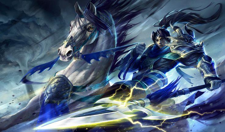 Warring Kingdoms Xin Zhao   League of Legends