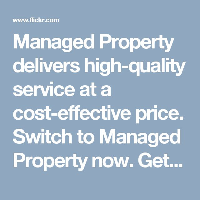 Managed Property delivers high-quality service at a cost-effective price. Switch to Managed Property now. Get in touch through call, email or text and start saving today.
