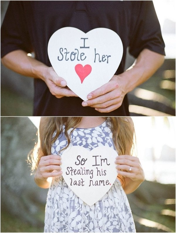 """""""I stole her heart"""" engagement pic. Photography by kelianphotography.com"""