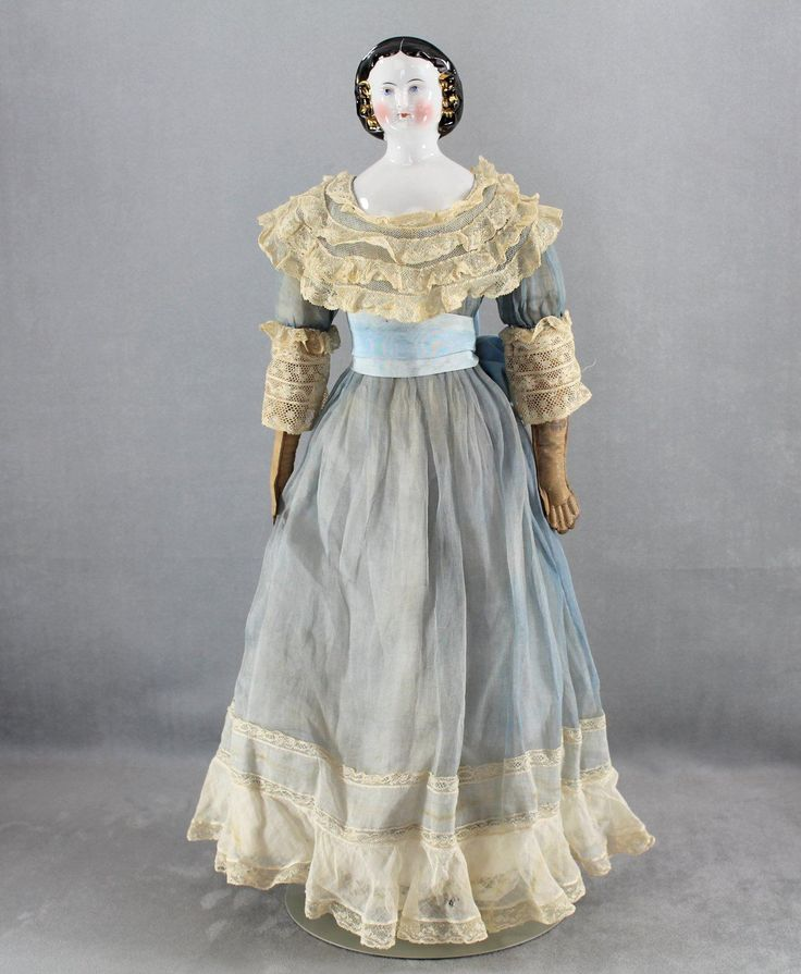 China Lady 1860s Mary Todd Lincoln Gold Snood