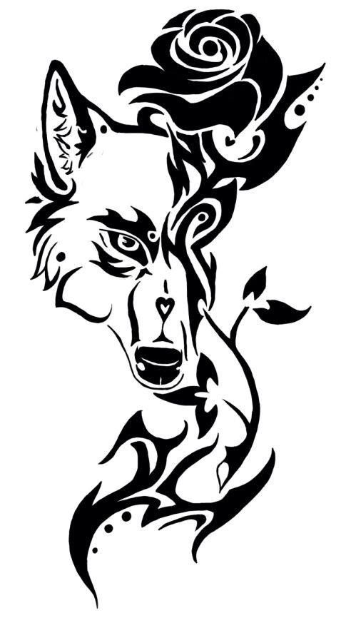25 best ideas about wolf stencil on pinterest simple. Black Bedroom Furniture Sets. Home Design Ideas