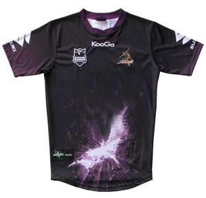 Melbourne Storm - The Dark Knight Rises (TM) Jersey