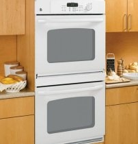 GE JTP35DPWW 30 4.4 cu. Ft. Double Electric Wall Ovens - White