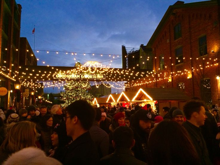 The Christmas Market 2014 at The Distillery District.