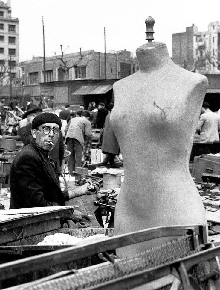 Els Encants Vells, Barcelona 1957, Photo: Xavier Miserachs