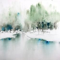 Reine-Marie Pinchon - SFA -Petit matin d'hiver