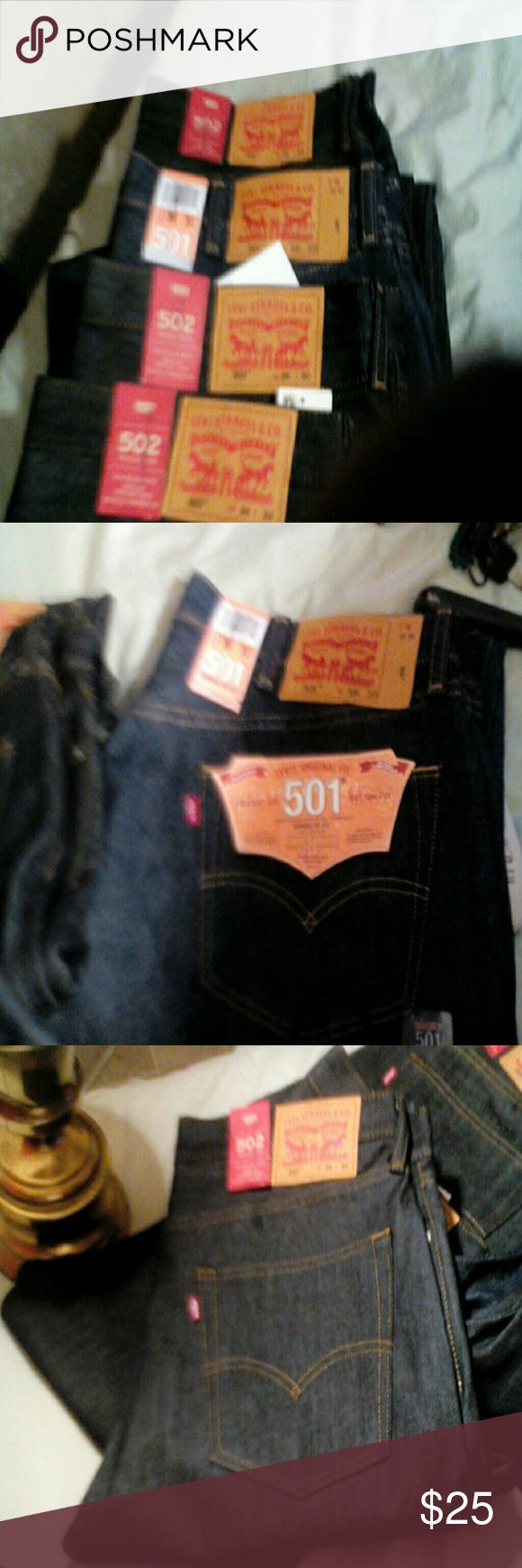 Levis New jeans,501 levis Jeans Straight