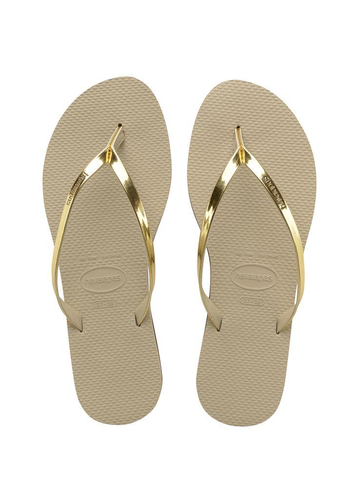Havaianas You Metallic Sandal Sand Grey/Light Gold  Price From: 50,54$CA