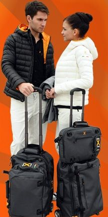Travel made easy! Pack less, pack lightly! All eco-consciously made! Clothing made of natural fibres. Waterproof zippers on all our cut-proof carry-on & computer bags.