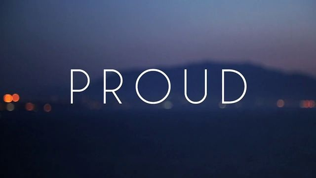 Watch our video, made for Geoffrey O'Connor's 'Proud'. New Kid Spring Summer Collection 2013
