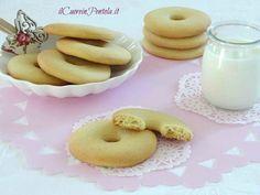 Biscotti alla panna Macine http://www.ilcuoreinpentola.it/ricette/macine-fatte-in-casa/