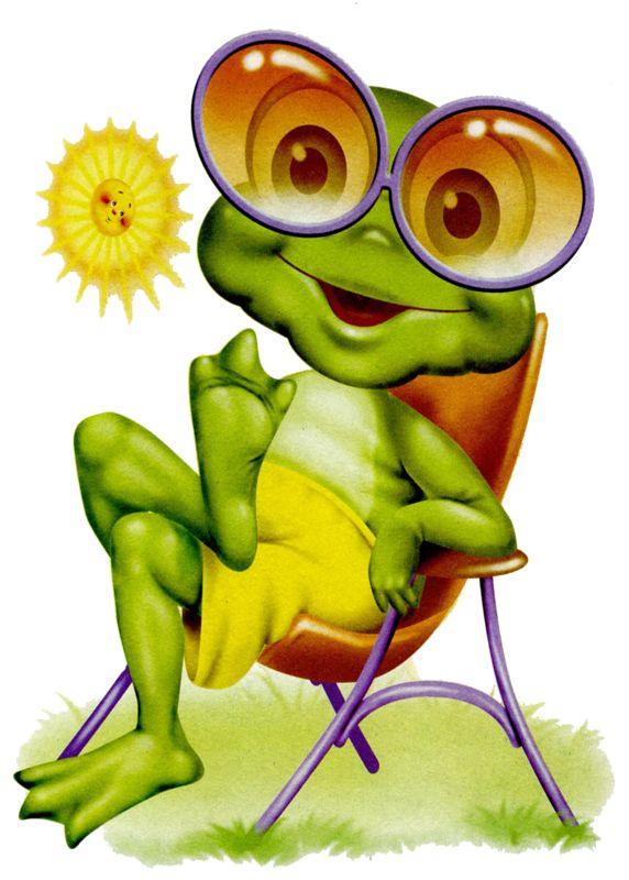 Cartoon - Frosch