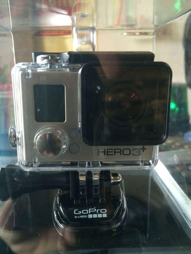 GoPro HERO 3+ Silver Edition Camcorder - Black/Silver (Silver Edition) #GoPro