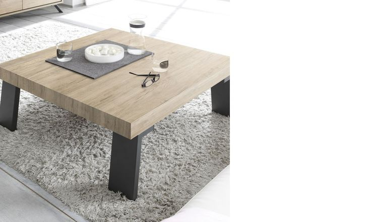 Best 25 table basse carr e ideas only on pinterest - Table basse carree bois gris ...