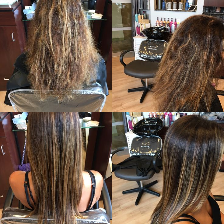 Amazing results with keratin complex
