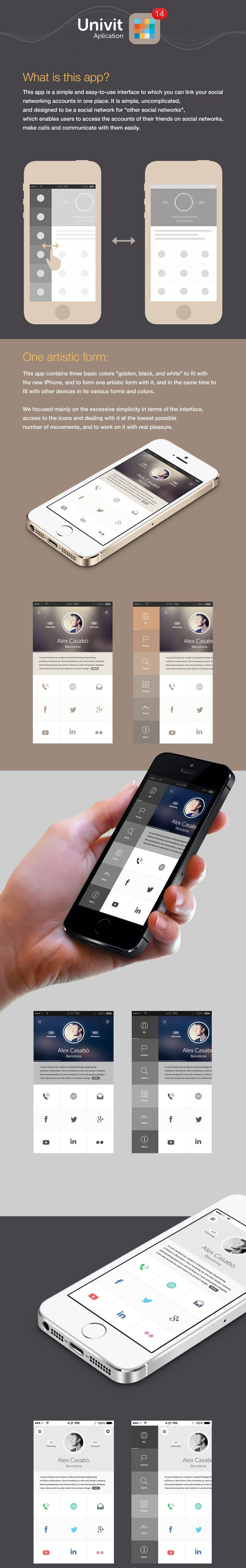 #app #design inspiration / layout & description