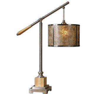 View the Uttermost 26765-1 Sitka Silver 1 Light Table Lamp at LightingDirect.com.