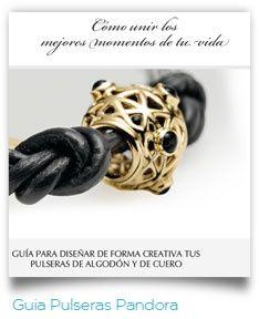 Guía pulseras #Pandora #trabajos #diseñografico #SimboloGrafico
