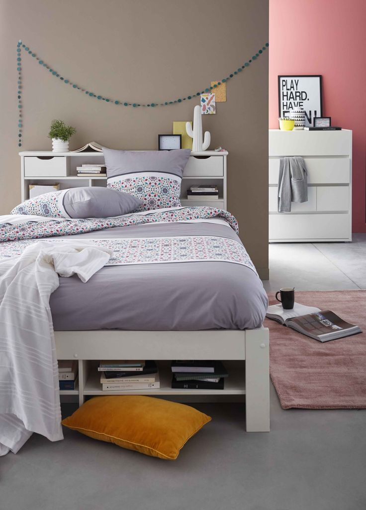 les 25 meilleures id es de la cat gorie lit alinea sur pinterest alin a tete de lit alinea et. Black Bedroom Furniture Sets. Home Design Ideas
