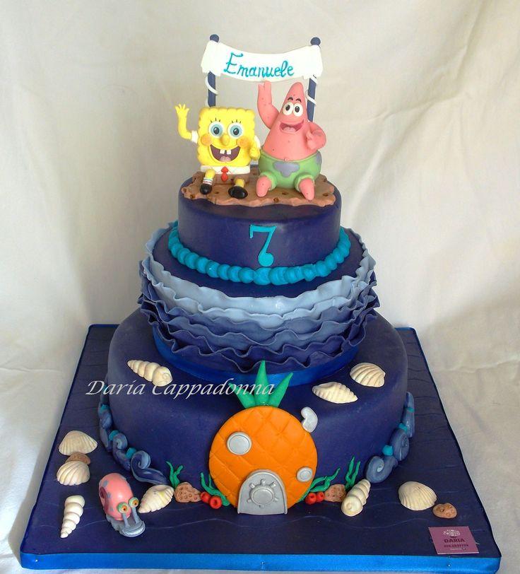 Spongebob & Patrick cake